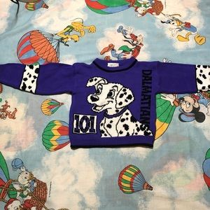 Vintage 90's children's 101 Dalmatians sweater